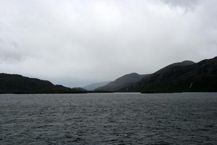Op zee, Amalia gletjser