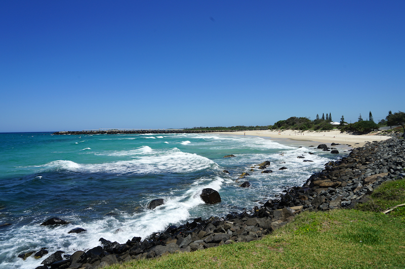 Byron Bay, Australië. Wat een teleurstelling.