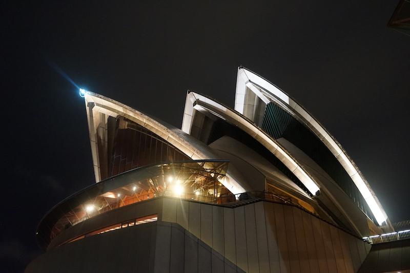 De iconen van Sydney, Australië.