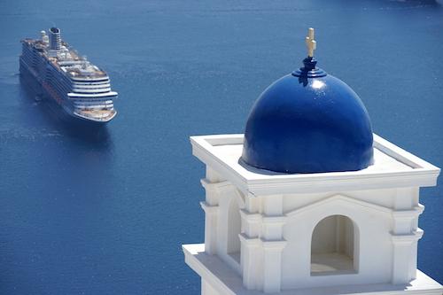 Santorini | Tegenwoordig te toeristisch