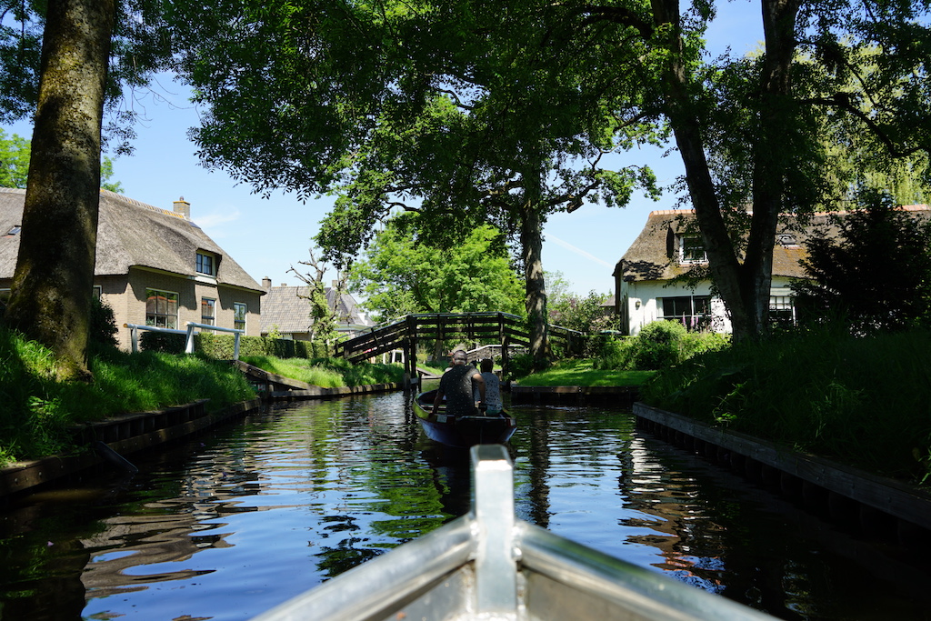 Giethoorn   Toerist in eigen land