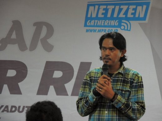 Daeng Ipul, mantan Ketua Blogger Anging Mammiri