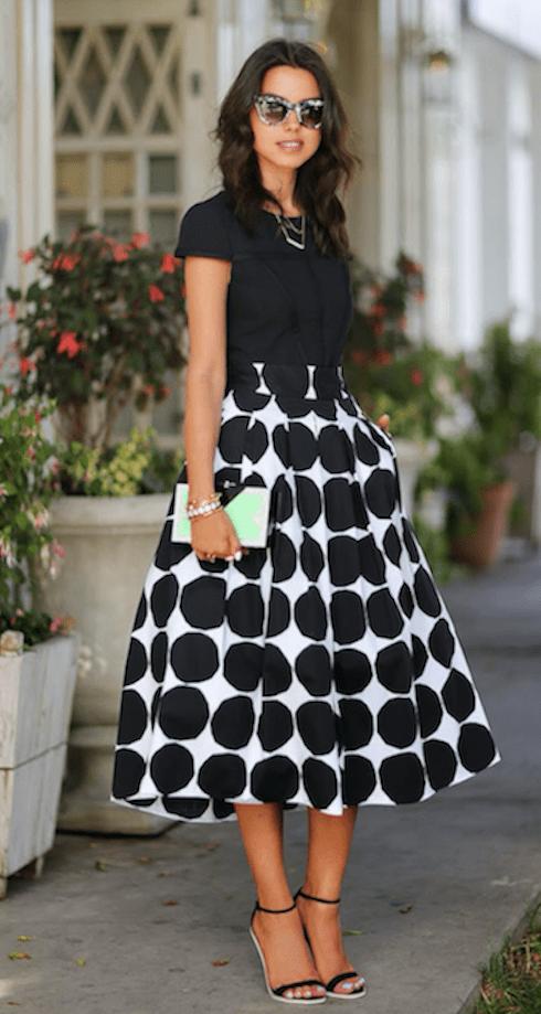 Una Y Mostaza Con Zapatos Combinar Que Falda