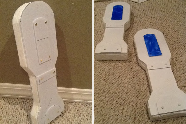 r2d2 finished legs