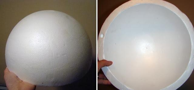 r2d2 foam ball form