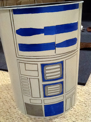 r2d2 painted body