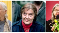 Jane Goodall, Dian Fossey y Birute Galdikas