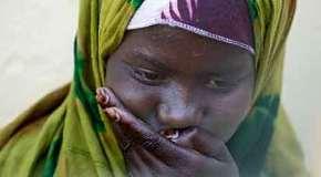 Somalia, dolor de una mujer