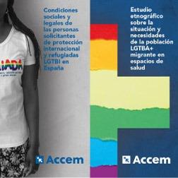 Estudios de Accem sobre personas refugiadas LGTBI+