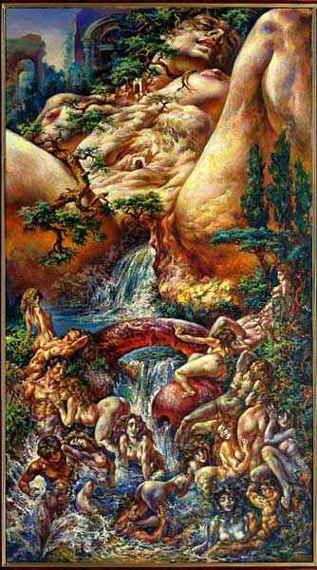 rios mares diosas