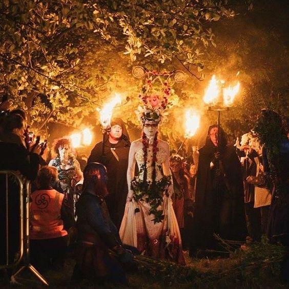 treina de mayo festival de beltane edinburgo