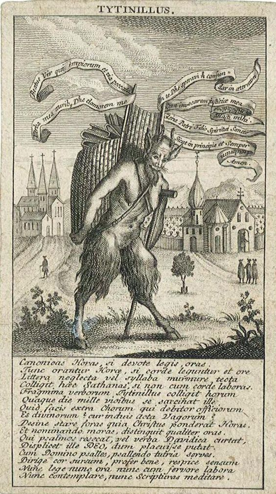 Titivillus devil