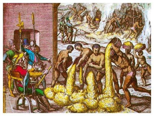 conquista y esclavitud