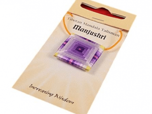 Colgante Mandala Talismán Manjushri - Incremento de la sabiduría