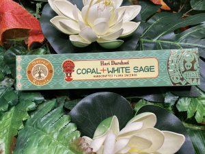 Incienso de Copal y Salvia blanca