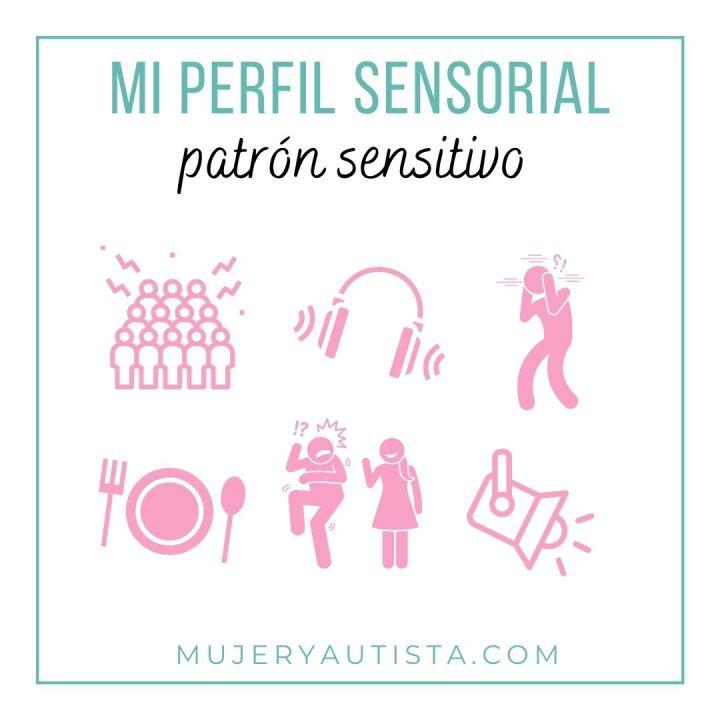 Perfil sensorial: patrón sensitivo