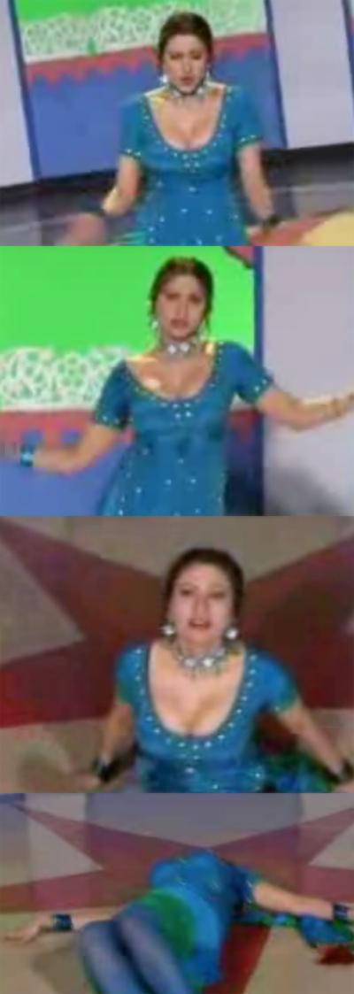 Saima Khan - Punjabi mujra - We Gujjra we - multani look - music video