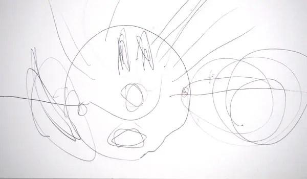 最近アンパンマンみたいな絵を書く