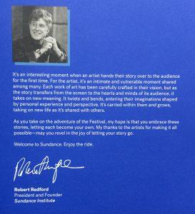 Robert Redford Zitat