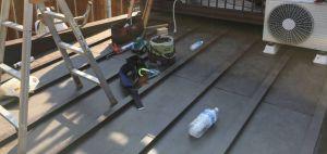 瓦棒 屋根 カバー工法 縦葺き