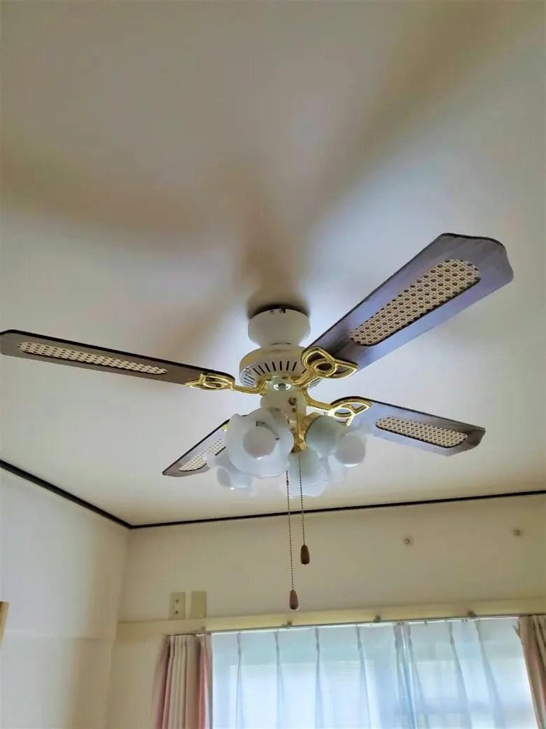 シーリングファンライトはエアコン要らず?メリットは大きいが天井に強度が必要