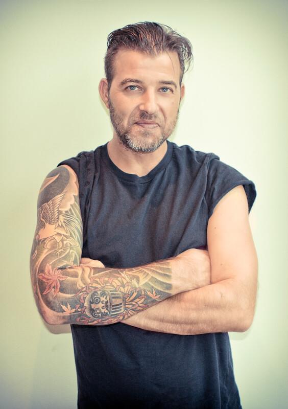 Tattoo ontwerp sleeve klaar