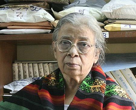 মহাশ্বেতা দেবী (১৪ জানুয়ারি ১৯২৬ – ২৮ জুলাই ২০১৬)
