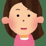 神妙な顔つきのトモ子さん