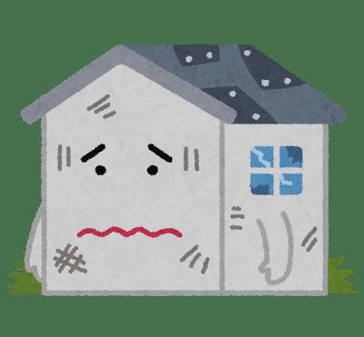 築38年の古い家(現行耐震基準を満たしている)