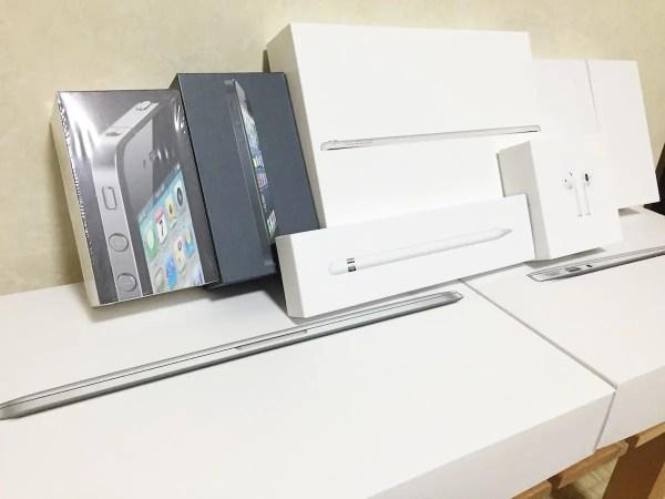 apple製品の箱