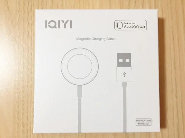apple watchの充電ケーブル