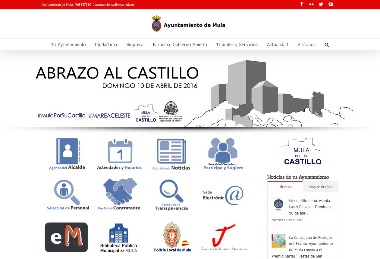 captura pantalla principal nueva web