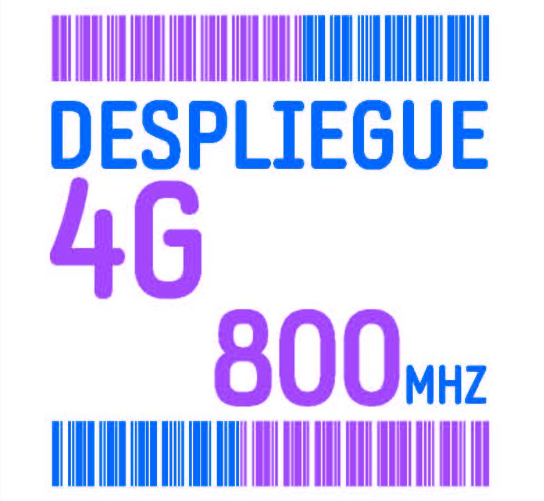 despliegue 4g