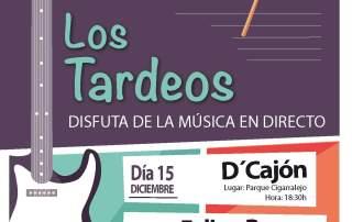 CARTEL LOS TARDEOS 2018