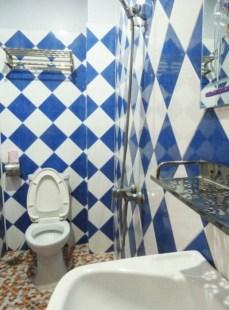 hotel Mékong Crossing toilette