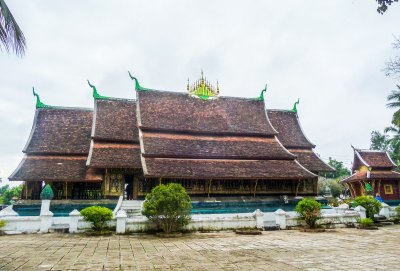 Laos, Luang Prabang, Temples Bouddhistes