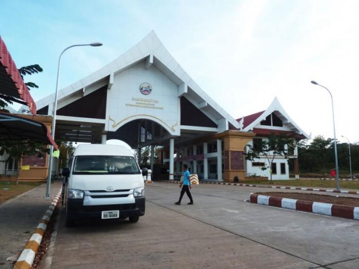 Frontière entre le Laos et le Cambodge