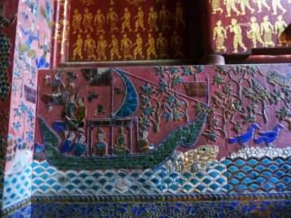 Laos, Luang Prabang, Temple Bouddhiste Wat Xieng Thong