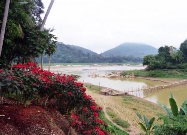Laos, Luang Prabang, les du Mékong