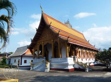 Laos, Temples Bouddhistes Luang Prabang