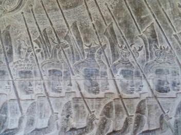 L'armée de Suryavarman II
