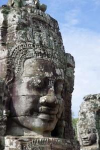 Bayon - Angkor - Statue visage - Copyright Philip Maiwald