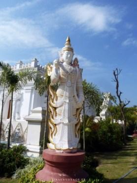 Statue Divinitée Paya Kyauktawgyi Mandalay