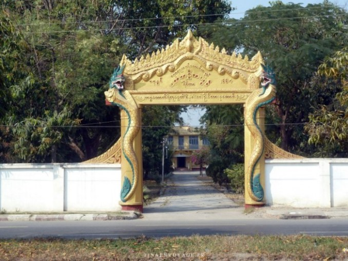 Property entrance Mandalay