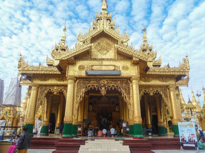 Myanmar, Yangon La Pagode Shwedagon