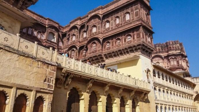 Jodhpur Inde,détails du Fort Mehrangarh
