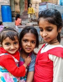 Jodhpur Inde,visages d'enfants de Jdhpur