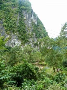 Les alentours de Nong Khiaw au Laos