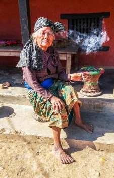 Un habitante de Ramkot