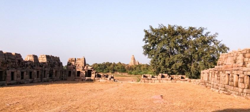 Restes du Temple Chausath Yogini